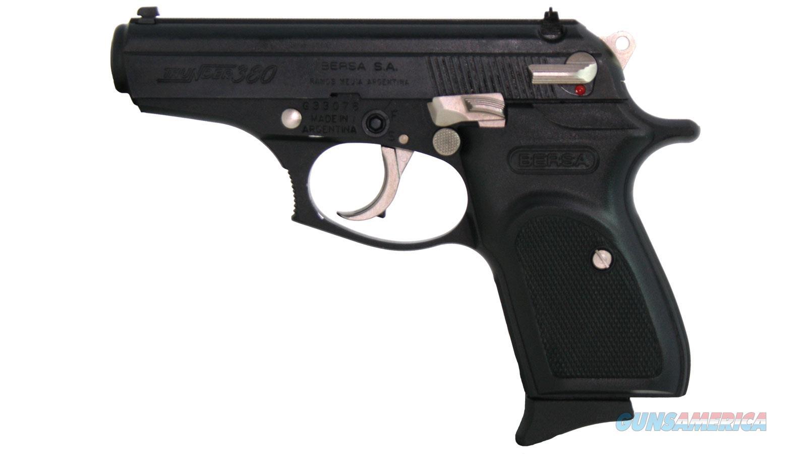 """Bersa T380m8eb 380Acp 3.5"""" 8Rd T380M8EB-EXCL  Guns > Pistols > B Misc Pistols"""