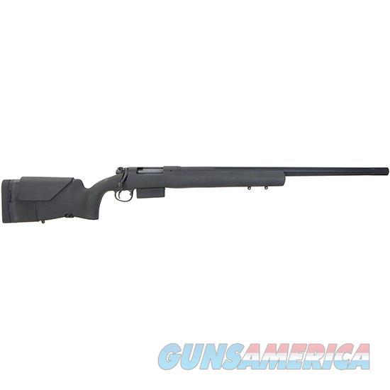 Hspi Heavy Tact 308Win 24 Fluted Blk HTR100  Guns > Rifles > H Misc Rifles