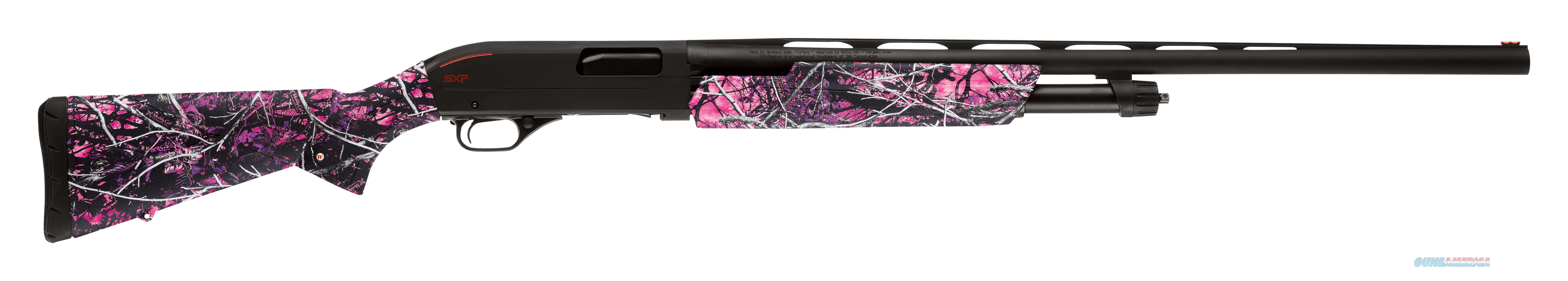 """Winchester Guns 512325690 Sxp Pump 20 Gauge 24"""" 3"""" Muddy Girl Syn Stk Blk Aluminum Alloy Rcvr 512325690  Guns > Shotguns > W Misc Shotguns"""