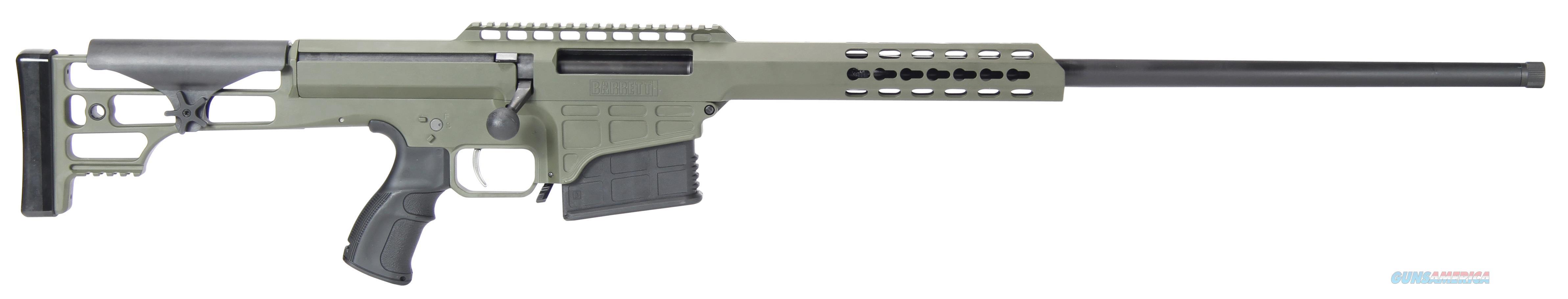 """Barrett 14831 M98b 300 Winchester Magnum 24"""" 10+1 Fixed Metal Od Green Stk Od Green 14831  Guns > Rifles > Barrett Rifles"""