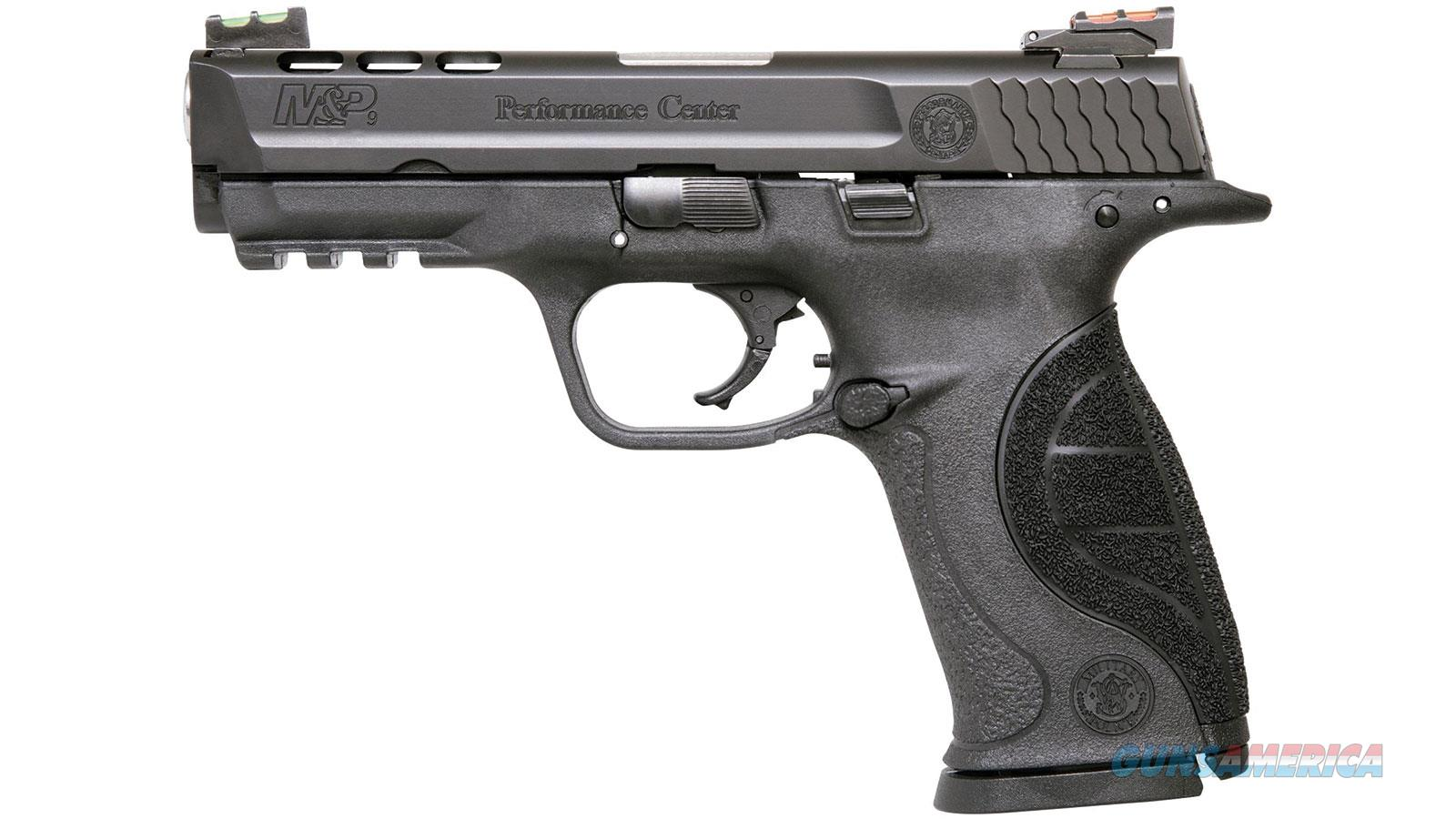 SMITH & WESSON M&P9 9MM 4.25 PORTED BLK POLY FOS 17RD 10217  Guns > Pistols > S Misc Pistols