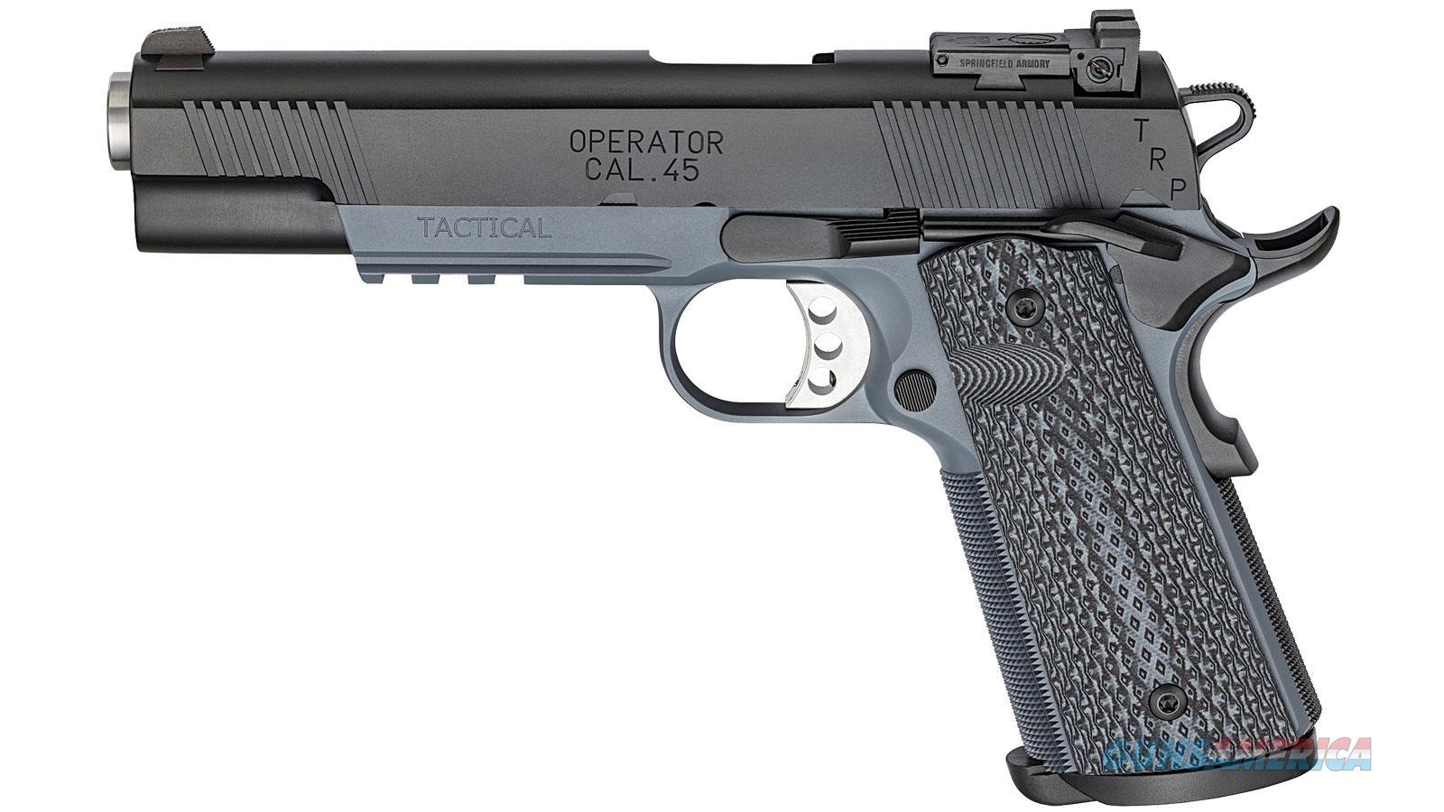 "Springfield Armory Trp Operator 45Acp 5"" 7Rd PC9105GL18  Guns > Pistols > S Misc Pistols"