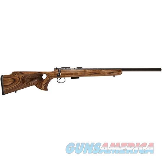 Czusa 455 Thumbhole 22Lr 20.7 Brown Laminate 5Rd 02234  Guns > Rifles > C Misc Rifles