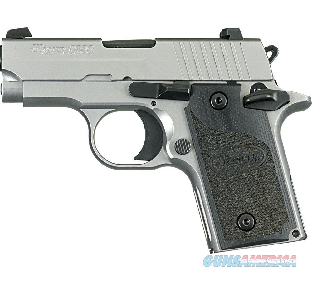 "Sig Sauer P238 .380Acp 2.7"" Night Sight S/S G-10-California 238-380-HD-CA  Guns > Pistols > S Misc Pistols"