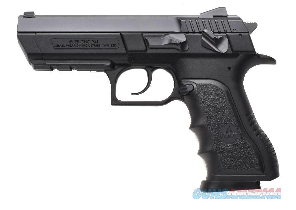 Iwi Usa Jericho 941 Pl-910 9Mm 4.4 Blk Poly 10Rd J941PL910  Guns > Pistols > IJ Misc Pistols