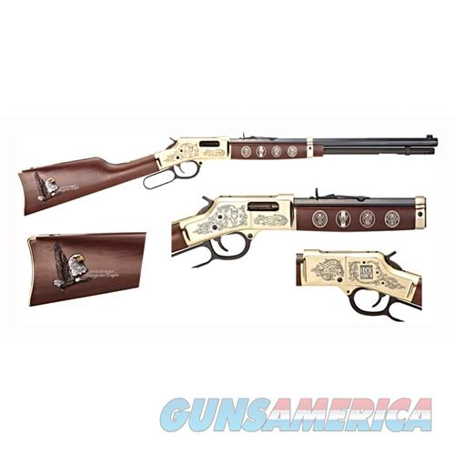Henry Eagle Scout Centennial .44 Mag/Spl Octagon Engraved H006ES  Guns > Rifles > H Misc Rifles