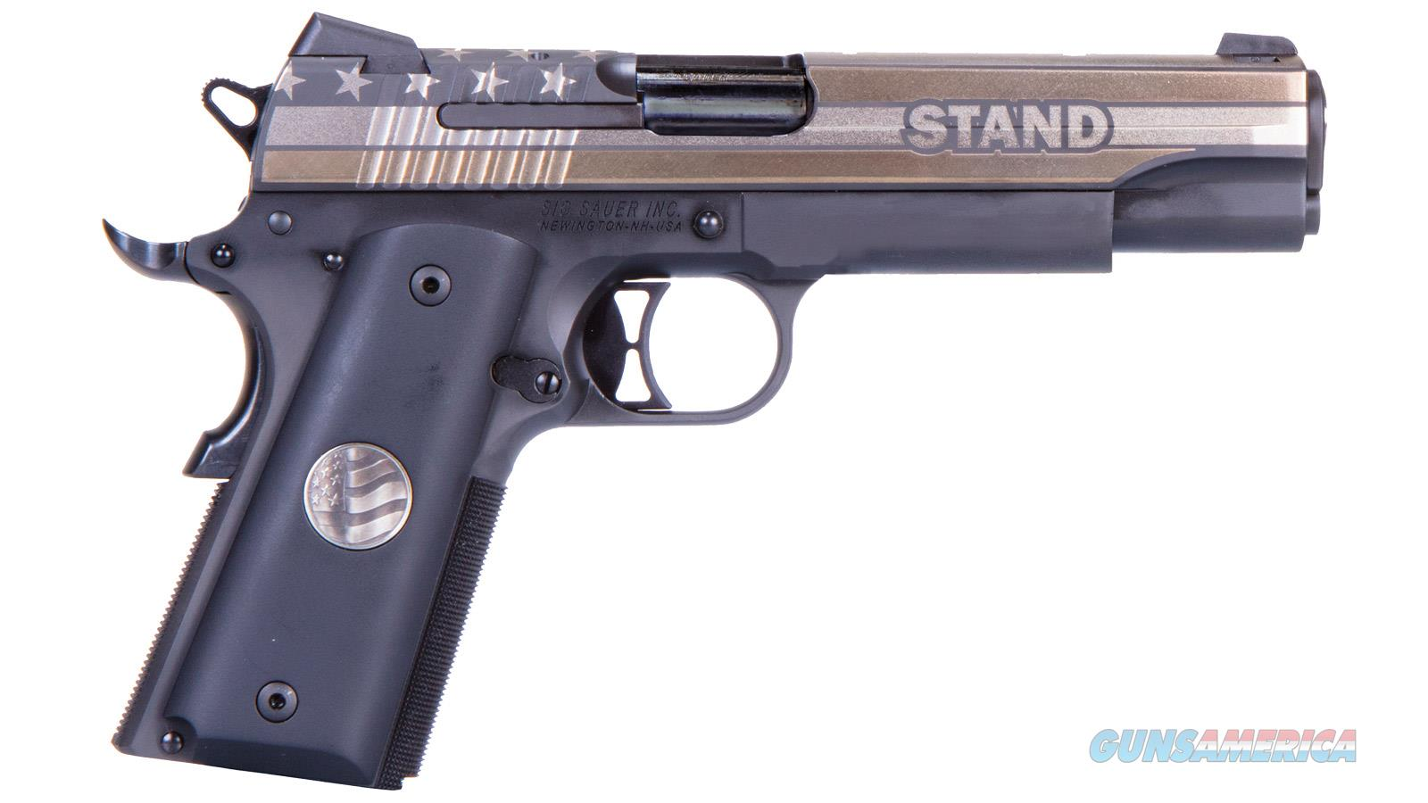"Sig Sauer 1911 Stand 45Acp 5"" 7Rd 1911-45-STAND  Guns > Pistols > S Misc Pistols"