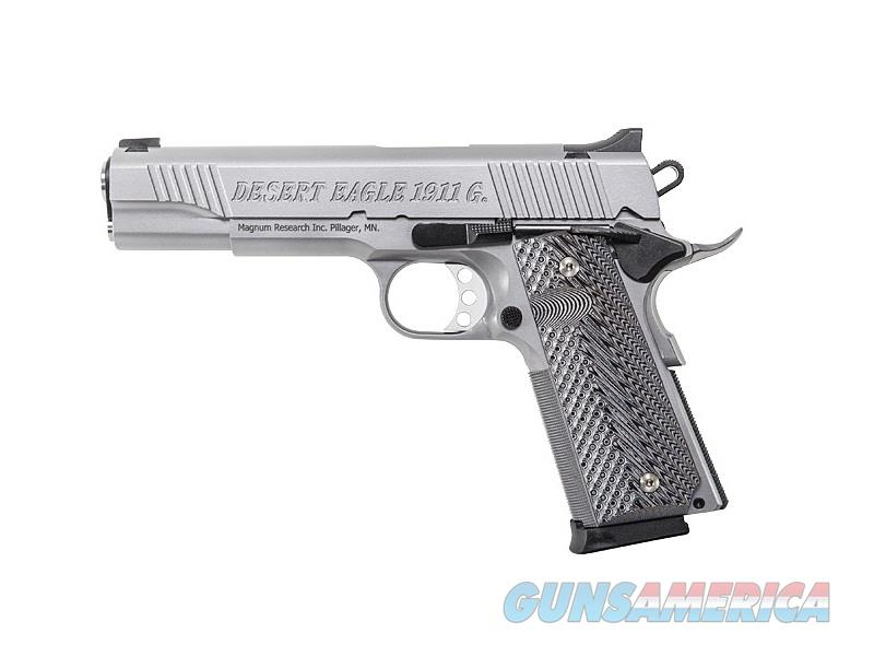 "Magnum Research De1911gss Desert Eagle 1911 G 45 Acp Single 5.01"" 8+1 Black/Gray G10 Grip Stainless Steel Slide DE1911GSS  Guns > Pistols > MN Misc Pistols"