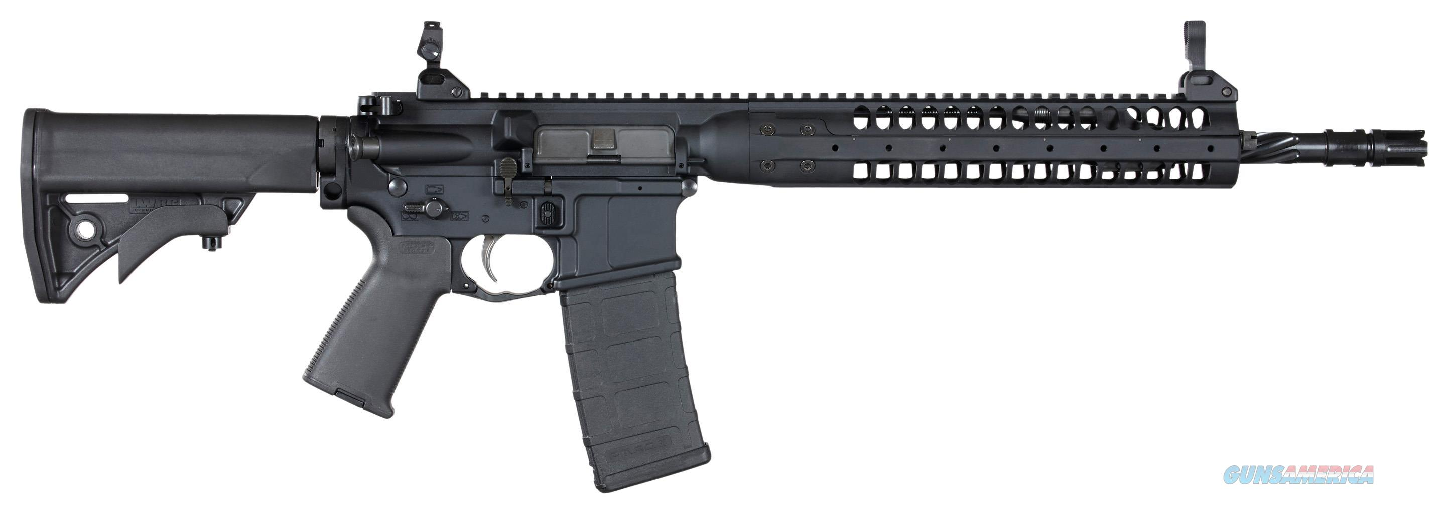"Lwrc Icr5b16spr Individual Carbine Spr Semi-Automatic 223 Remington/5.56 Nato 16.1"" 30+1 Adjustable Black Stk Black ICR5B16SPR  Guns > Rifles > L Misc Rifles"