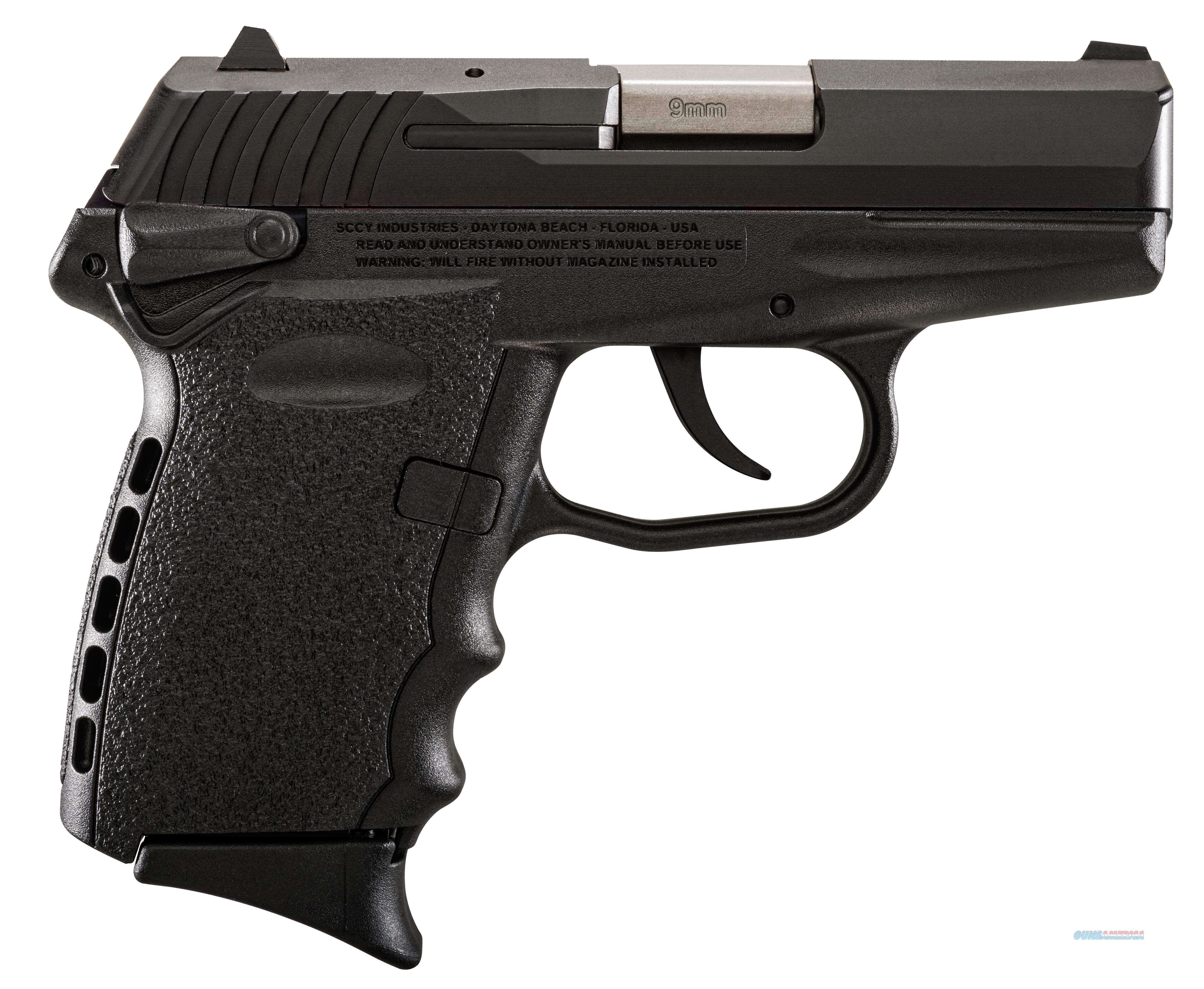 SCCY INDUSTRIES SCCY CPX1 9MM DOA 10RD BLK CPX1-CB  Guns > Pistols > S Misc Pistols