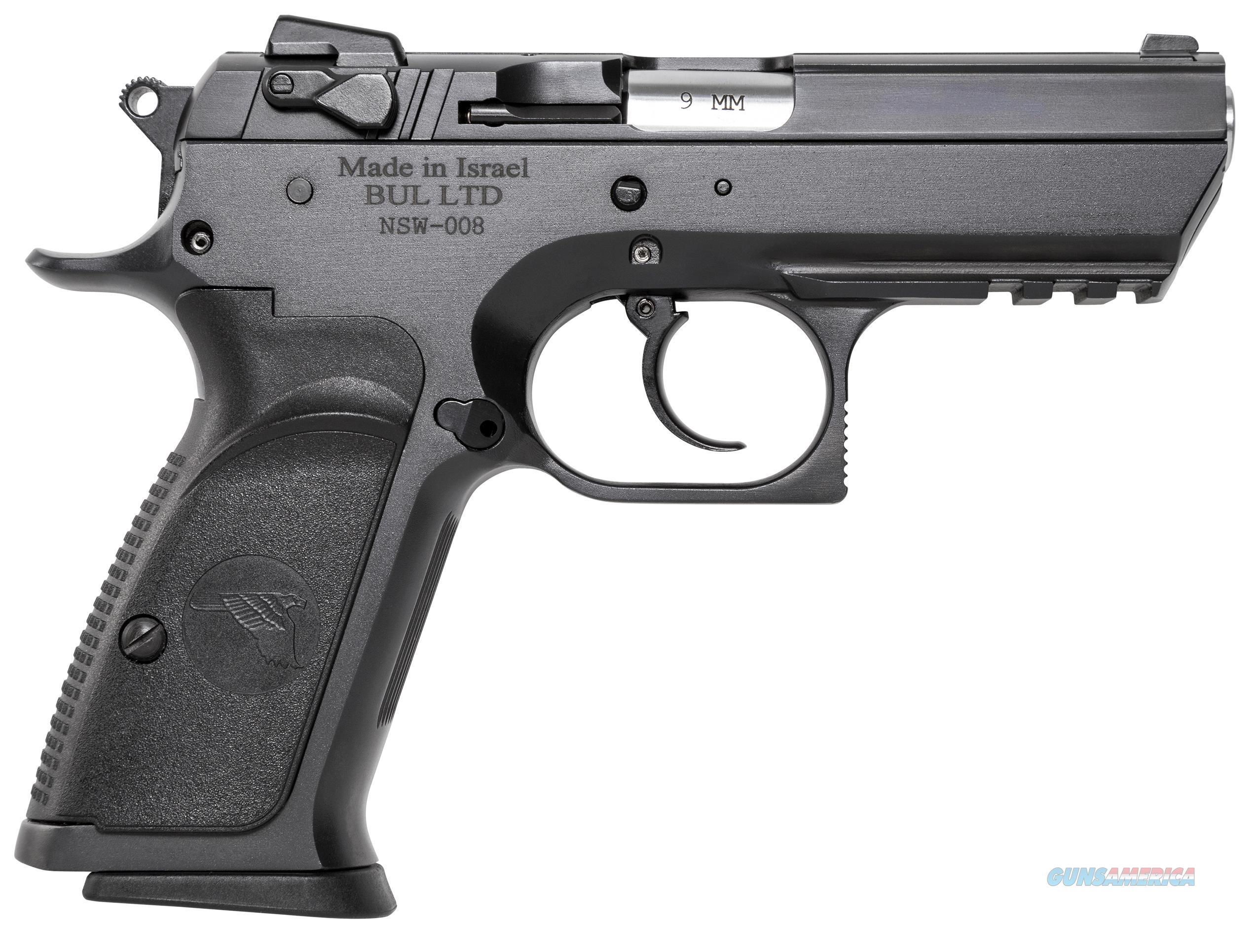 "Magnum Research Be45003rs Baby Desert Eagle Single/Double 45 Automatic Colt Pistol (Acp) 3.8"" 10+1 Blk Carbon Steel BE45003RS  Guns > Pistols > Magnum Research Pistols"