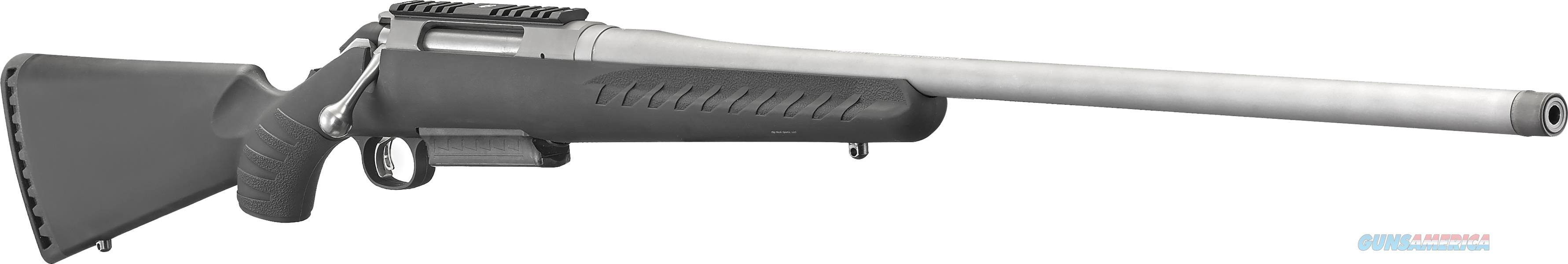 "Ruger American Bolt-Action All Weather Rifle 300 Win Mag 24"" Syn Matte S/S 4Rd 16912  Guns > Rifles > R Misc Rifles"