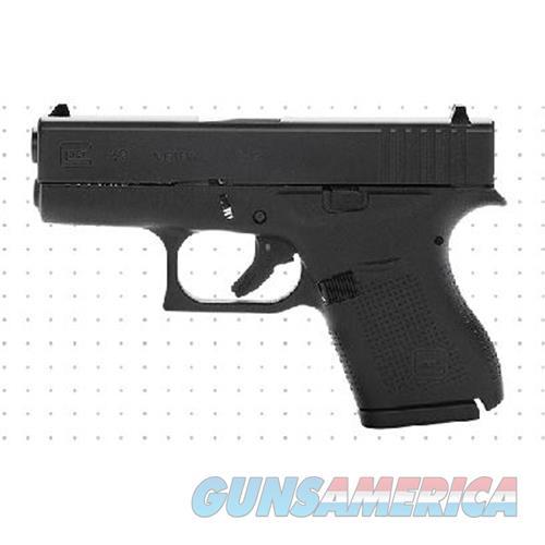 "Glock G43 9Mm 3.25"" 6Rd Semi Bl UI4350201  Guns > Pistols > G Misc Pistols"