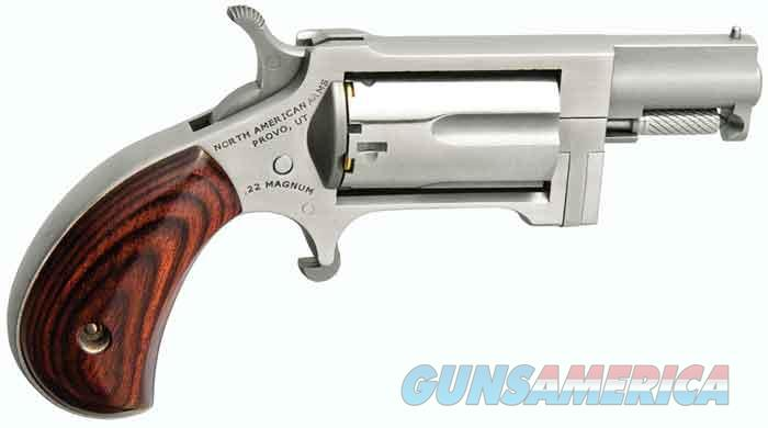 NORTH AMERICAN ARMS 22MAG SIDEWINDER 1 IN. BBL NAA-SW  Guns > Pistols > North American Arms Pistols