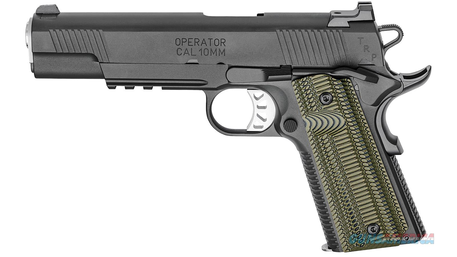 Springfield Armory Trp 10Mm Ns Black T Tactical Response Pistol PC9510L18  Guns > Pistols > S Misc Pistols