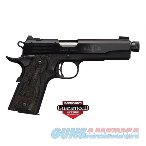 1911-22 Bl Med 22Lr 10+1 Tb  * G051869490  Guns > Pistols > B Misc Pistols