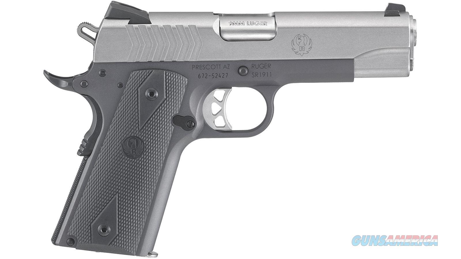 """Ruger Sr1911 9Mm 4.25"""" 10Rd Semi 6722  Guns > Pistols > R Misc Pistols"""