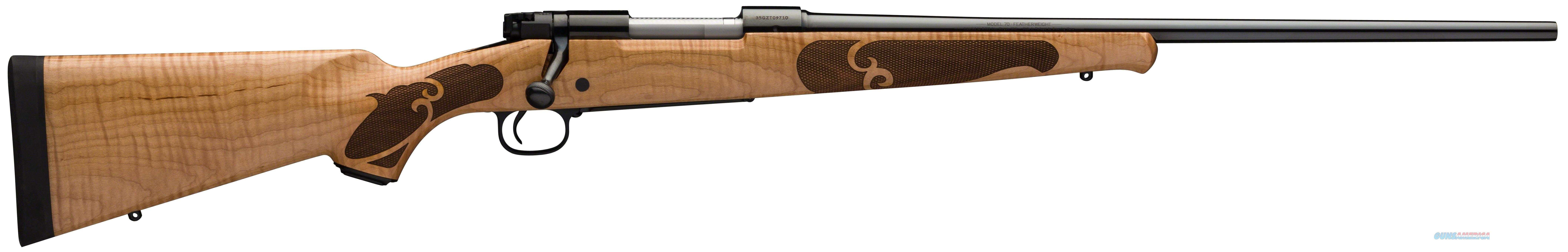 "Winchester Model 70 Featherweight High Grade Maple Stock, Blt Action, 4+1 Rnd, 22"" Bbl, 243 Win 535229212  Guns > Rifles > W Misc Rifles"