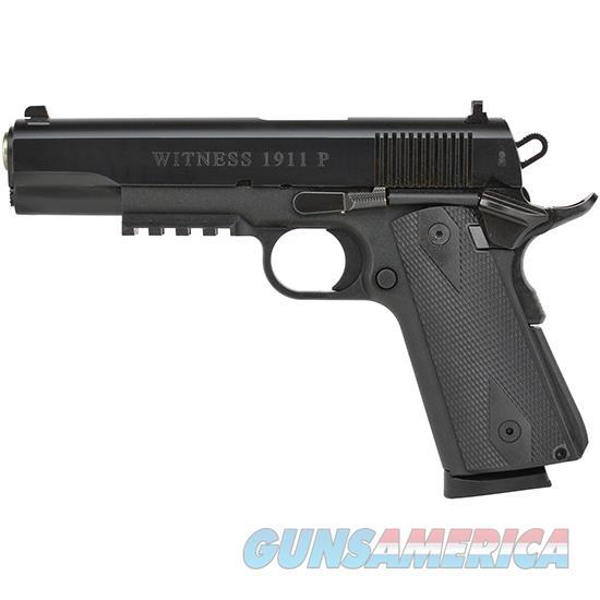 "Eaa 600347 Witness Elite 1911 Polymer Single 45Acp 5.0"" 8+1 Wood Grip Blk 600347  Guns > Pistols > E Misc Pistols"
