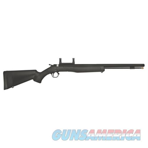 Cva Wolf Rifle .50 Blued/Black Syn. W/Scope Mount PR2110M  Guns > Rifles > C Misc Rifles