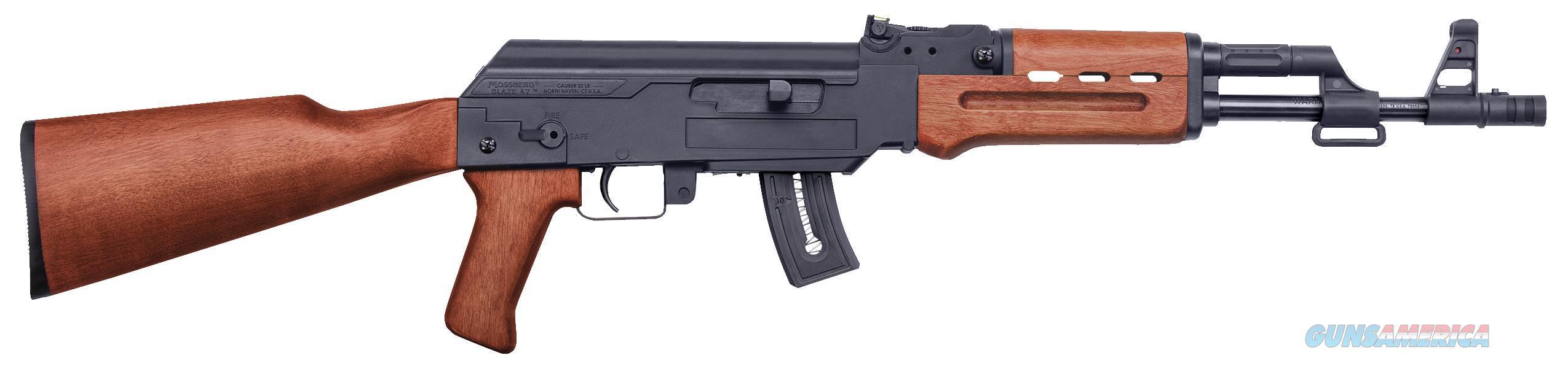 """Mossberg 37254 Blaze 47 Semi-Automatic 22 Lr 16.5"""" 11+1 Wood Stk Blued 37254  Guns > Rifles > MN Misc Rifles"""