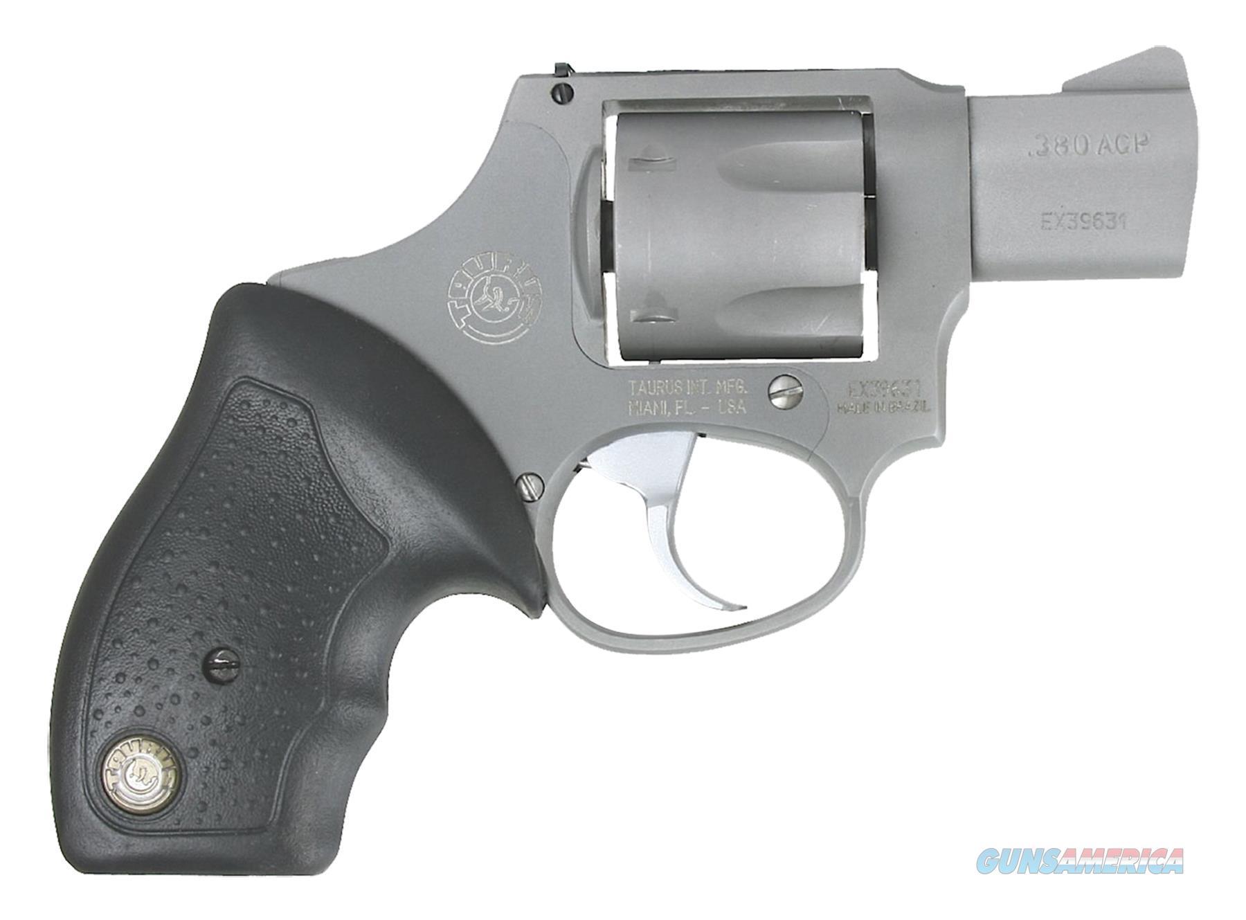 "Taurus 2380129Ul 380 Mini Revolver Double 380 Automatic Colt Pistol (Acp) 1.75"" 5 Rd Black Rubber Grip Stainless 2-380129UL  Guns > Pistols > TU Misc Pistols"