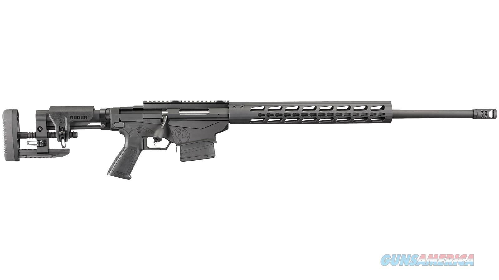 "Ruger Precision 5.56 Nato/223 20"" Matte Black W/Muzzle Brake 18019  Guns > Rifles > R Misc Rifles"