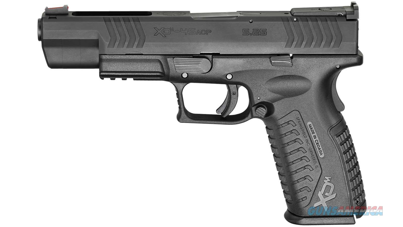 Springfield Armory Xdm Competition 10Rd 45Acp 5.25 Blk Essentia XDM952545BE  Guns > Pistols > S Misc Pistols