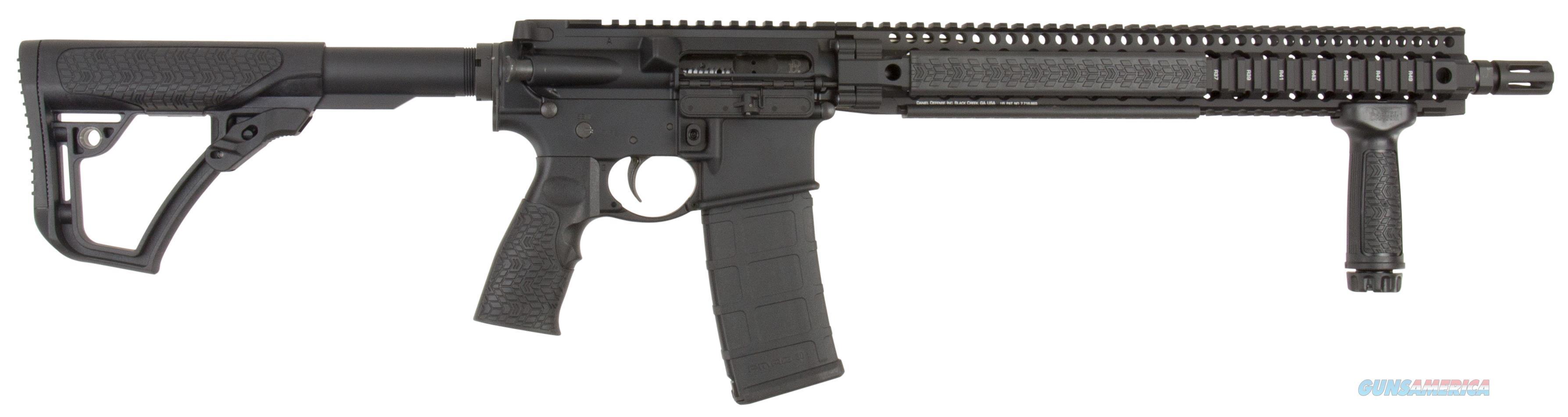 "Daniel Defense 15175055 Ddm4 V9 *Ca Compliant* Semi-Automatic 223 Remington/5.56 Nato 16"" 10+1 6-Position Black Stk Black Hard Coat Anodized/Black Phosphate 02-145-15175-055  Guns > Rifles > D Misc Rifles"
