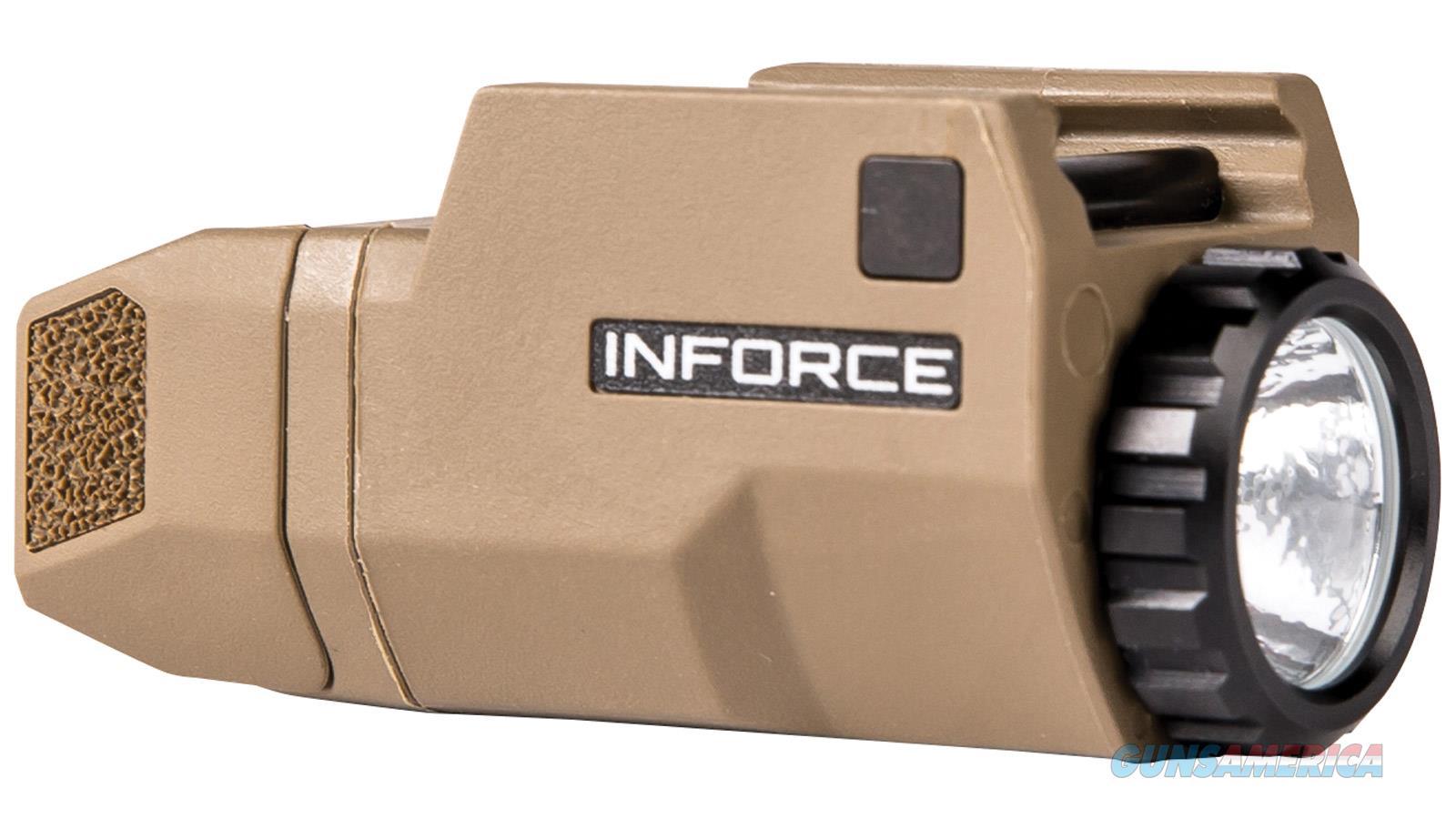 Inforce Aplc Lt For Glk Led Fde ACG-06-1  Guns > Rifles > IJ Misc Rifles