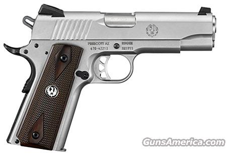 "Ruger SR1911 COMMANDER Stainless 4.25"" 45 ACP NEW!!! #6702  Guns > Pistols > Ruger Semi-Auto Pistols > SR9 & SR40"