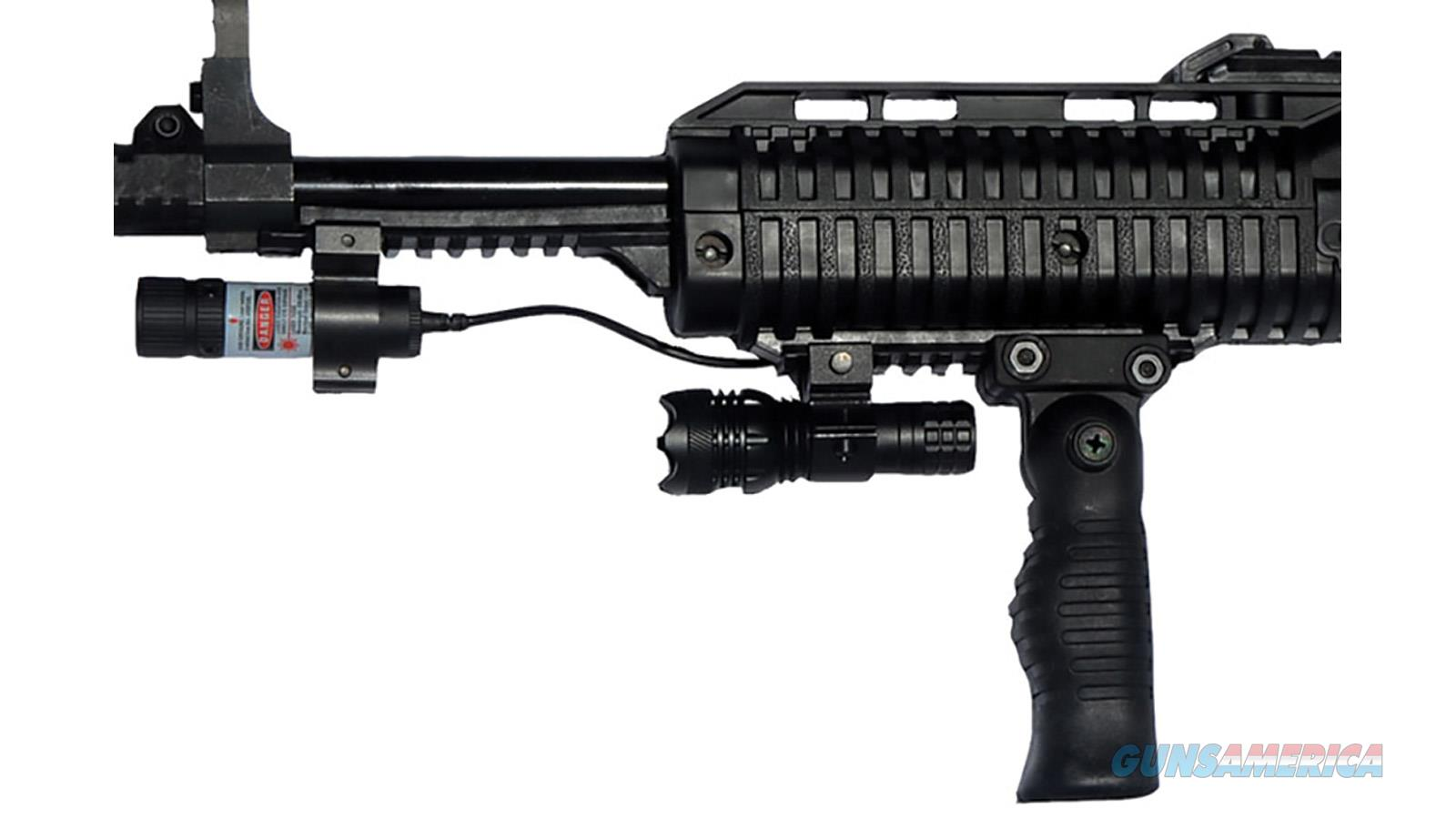 Hipoint 45Ts Semi-Auto Carbine 45 Acp, Rh, 17.5 In, Blk, Plmr Stock, 9+1 Rnd, W/Fwd Grip 4595TS FG FL LAS  Guns > Rifles > H Misc Rifles