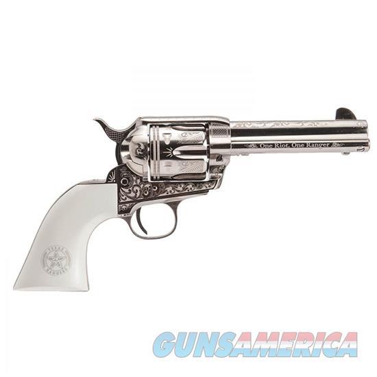 Cimarron Firearms Frontier 45Lc 4.7 Tx Rng Ni-Eng PP410LNTXR  Guns > Pistols > C Misc Pistols
