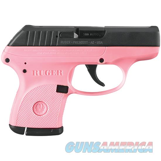 Ruger Lcp Pink 380Acp 6Rd 2.75 Bhc Exclusive 3717  Guns > Pistols > R Misc Pistols