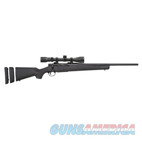 "Mossberg 27840 Patriot Youth With Scope Bolt 243 Win 20"" 5+1 Synthetic Black Stk Blued 27840  Guns > Rifles > MN Misc Rifles"