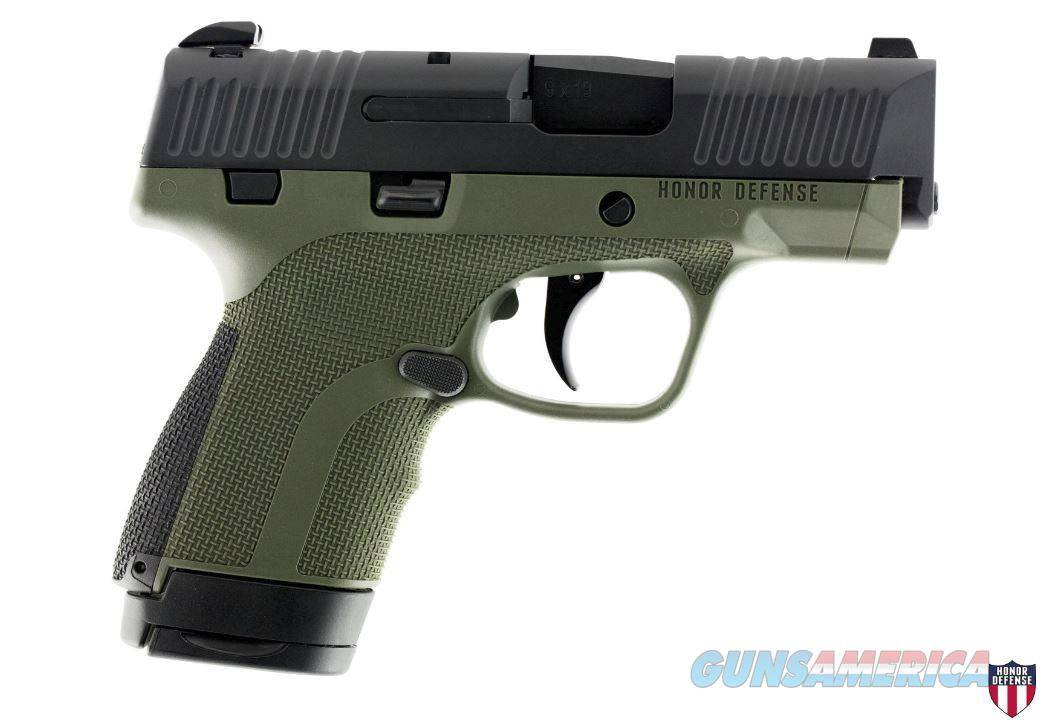 "Honor Defense Hg9sc-Od 9Mm 3.2"" 7/8Rd HG9SCOD  Guns > Pistols > H Misc Pistols"