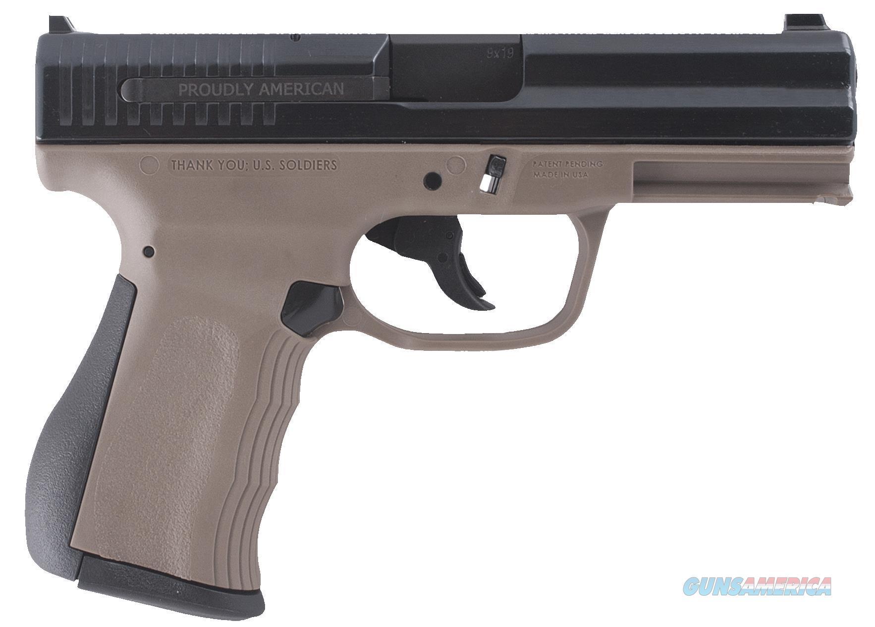 Fmk Firearms 9Mm G2 Fat 14Rd Fde FMKG9C1G2DE  Guns > Pistols > F Misc Pistols