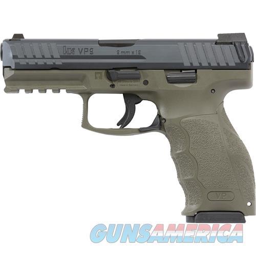 "Heckler & Koch Vp9 Striker Fired 9Mm 4.09"" Bbl 3-Dot Fs 2-15Rd Odg M700009GR-A5  Guns > Pistols > H Misc Pistols"