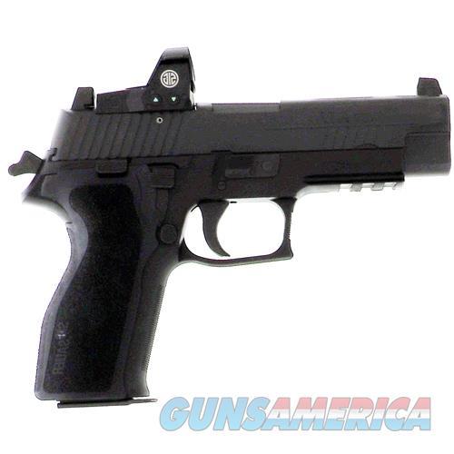"""Sig Sauer P226 9Mm 4.4"""" Tall Contras Sight W/Romeo 1 Reflex 15-Sh E26R-9-B-RX  Guns > Pistols > S Misc Pistols"""