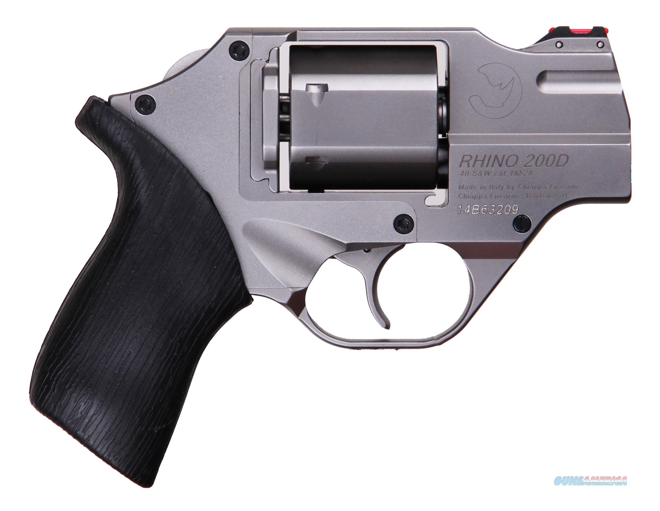 """Rhino 200D 40S&Amp;W 2"""" Chrome Dao CF340.235  Guns > Pistols > C Misc Pistols"""