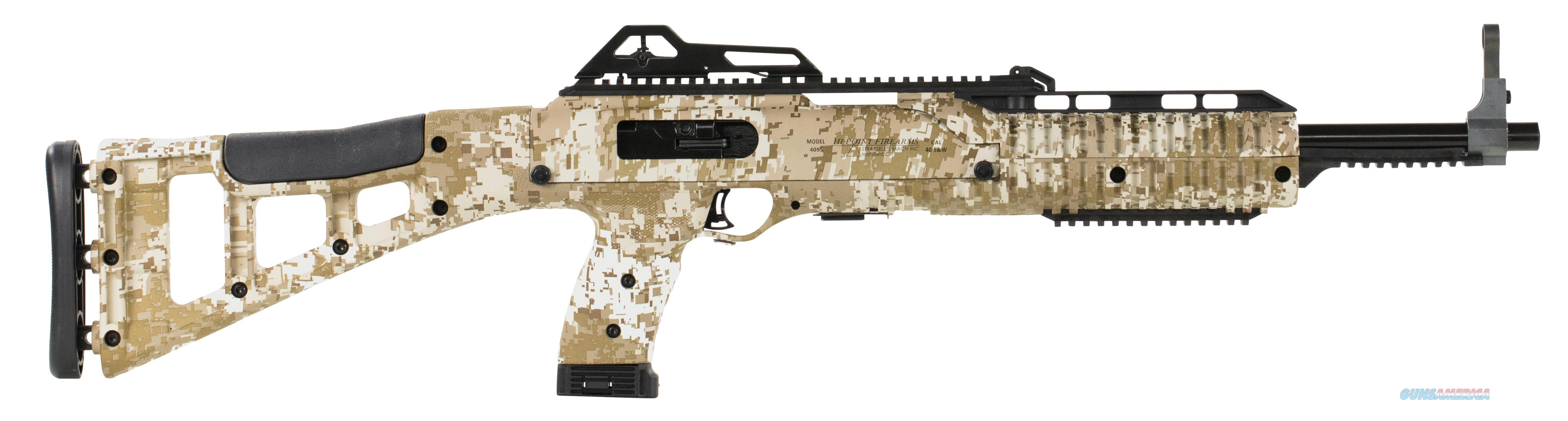 "Hipoint 40Ts Semi-Auto Carbine In Desert Digitial Pattern 17.5"" 10Rd State Law Apply 4095TSDD  Guns > Rifles > H Misc Rifles"