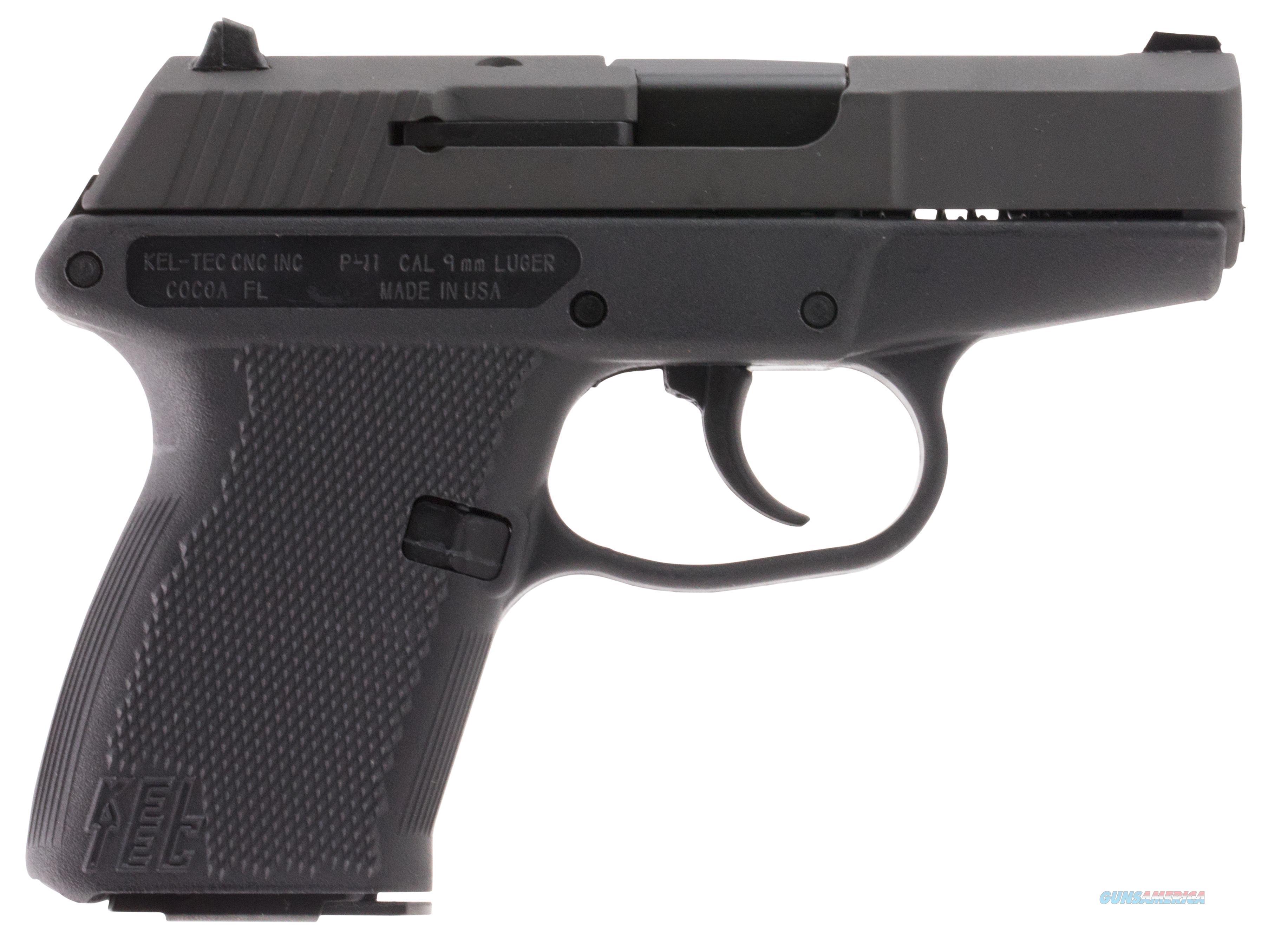"Kel-Tec P11pkblk P-11 9Mm 3.1"" 10+1 Black Poly Grip Parkerized Finish P11PKBLK  Guns > Pistols > K Misc Pistols"