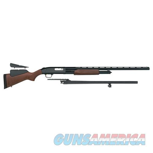 "Mossberg 54243 500 Field/Deer Pump 12 Gauge 5+1 28""/24"" Wood Dual Comb Stock Blued 54243  Guns > Rifles > MN Misc Rifles"