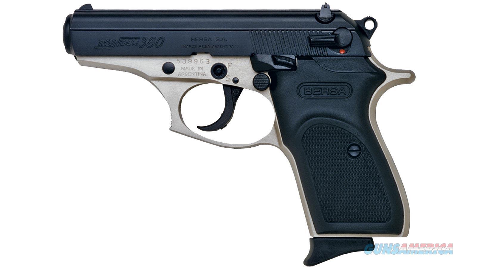 "Bersa Tndr 380Acp Duo Tone 3.5"" T380DT8  Guns > Pistols > B Misc Pistols"