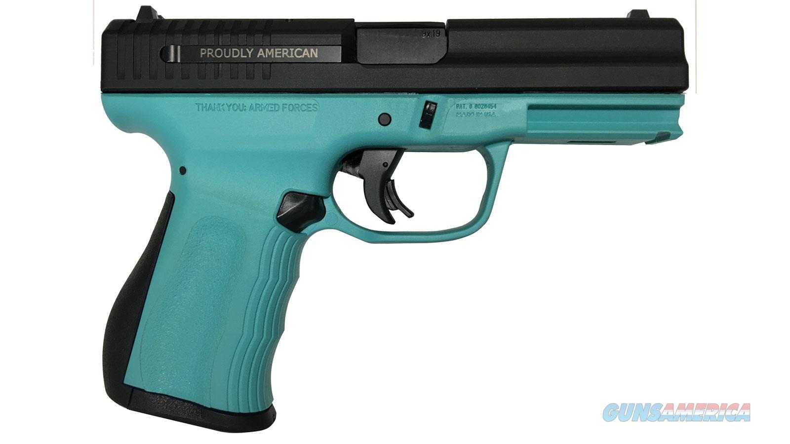 Fmk Firearms 9C1 G2 Fat 9Mm 4 Nms Robins Egg Blue 14Rd FMKG9C1G2TB  Guns > Pistols > F Misc Pistols