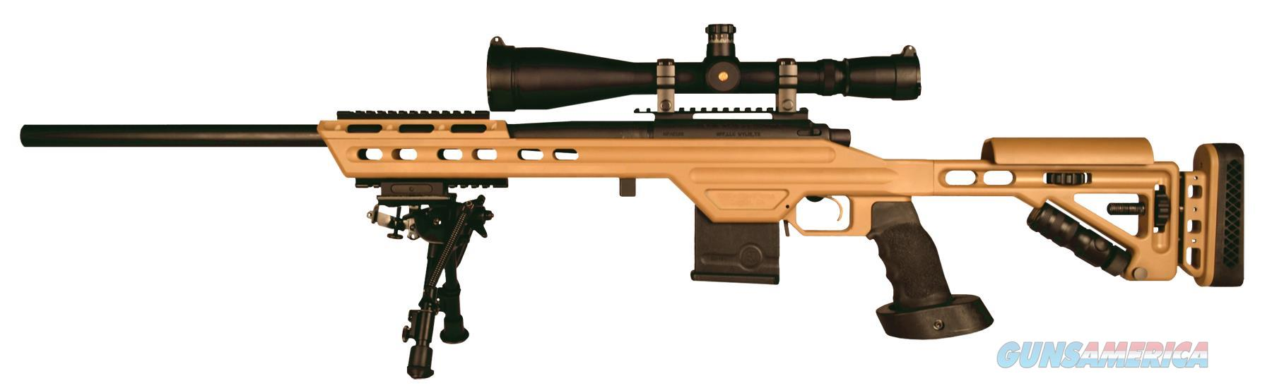 "Masterpiece Arms 308Batan Bolt Action 308 Win/7.62 Nato 24"" 10+1 Mpa Tactical Chassis Aluminum Tan Stk Tan Cerakote 308BATAN  Guns > Rifles > MN Misc Rifles"