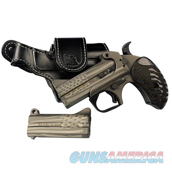 Bond Arms Cerakote Old Glory 45/410 3.5 BAOG3545410  Guns > Pistols > B Misc Pistols