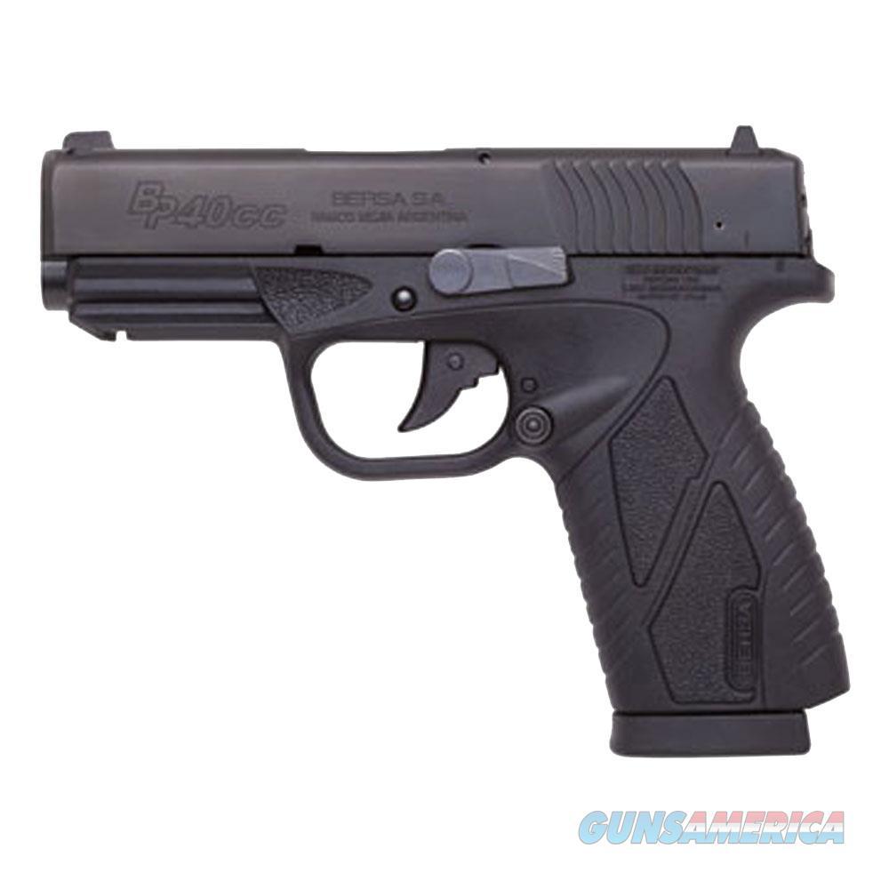 "Bersa Bpcc 40Sw 3.3"" 7Rd Blk Syn BP40MCC  Guns > Pistols > Bersa Pistols"
