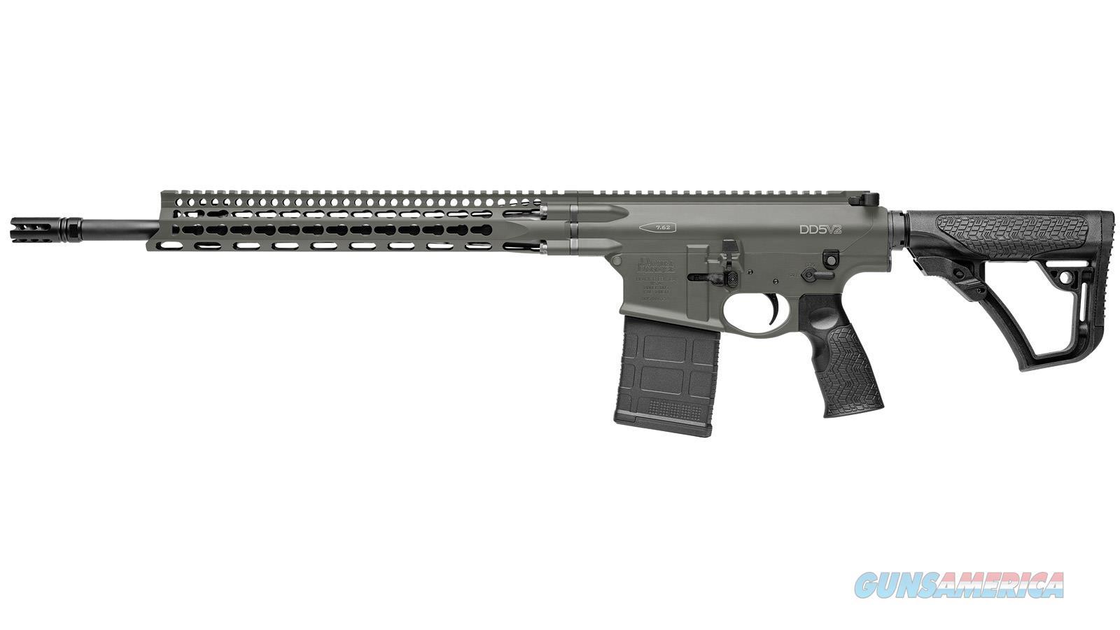"Daniel Defense Dd5v2 7.62Mm 18"" 20Rd 02-155-02048-047  Guns > Rifles > D Misc Rifles"