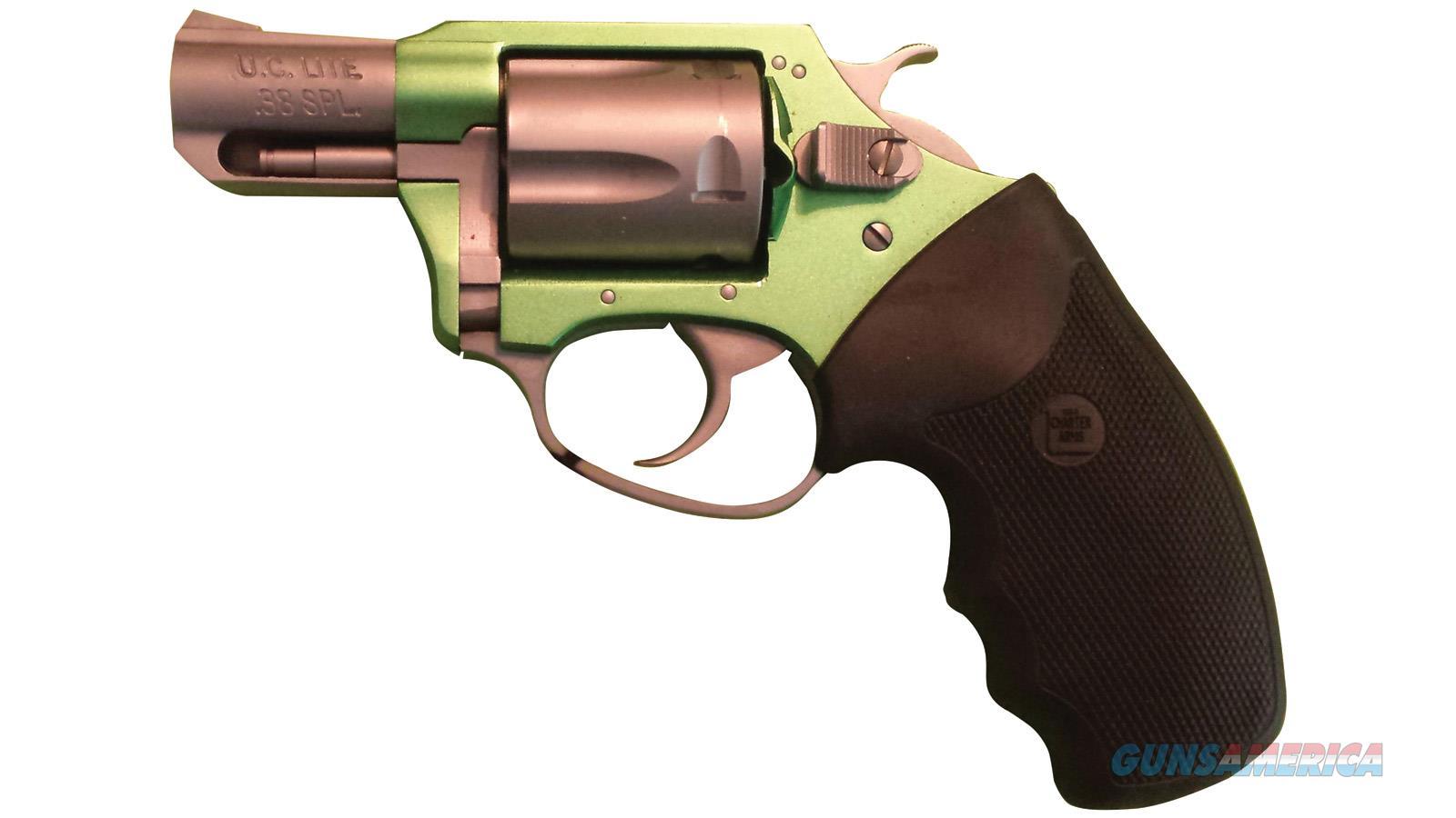 "Charter Arms Shamrock 38Spl 2"" Grn/Ss 53845  Guns > Pistols > C Misc Pistols"